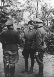 General Oswald Pohl in Auschwitz