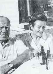 Oskar Schindler and Anne Marie Staehr